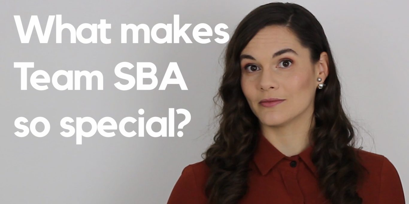 What Makes SBA so special Thumb